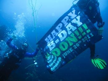Diving Baja California Mexico