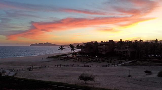The View of the Sea of Cortez from Casa del Mar Pelicano 301, Los Cabos Mexico