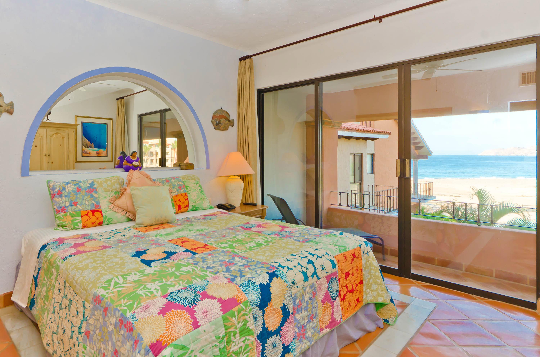 Bedroom at Casa del Mar Condo, Los Cabos Mexico
