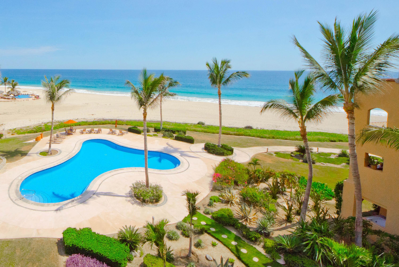 One of the pool areas at Casa del Mar overlooking the Sea of Cortez - Los Cabos, Mexico