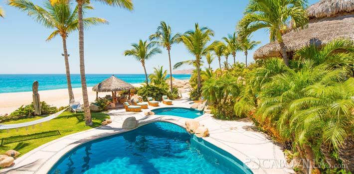 Beachfront vacation rental Villa las Rocas in Los Cabos, Mexico