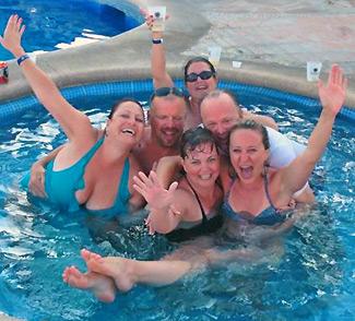 Friends vacation  in Los Cabos Mexico