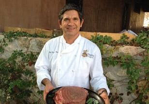 Chef Enrique Silva of Los Tamarindos Los Cabos Mexico
