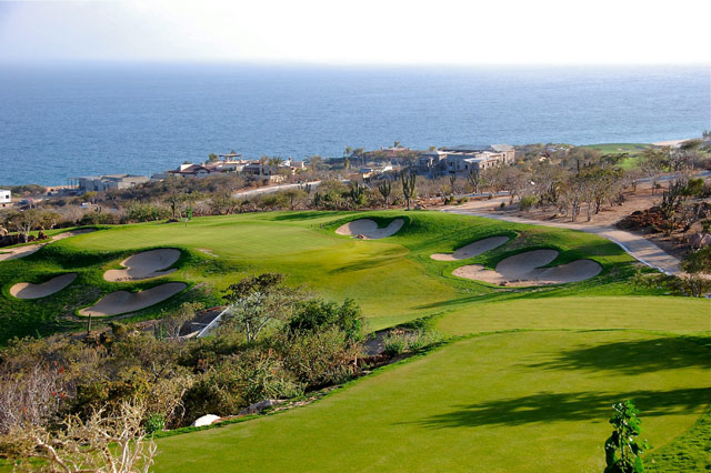 the Golf Course at Puerto Los Cabos
