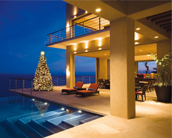 A villa in Cabo is a perfect spot to enjoy the holiday season