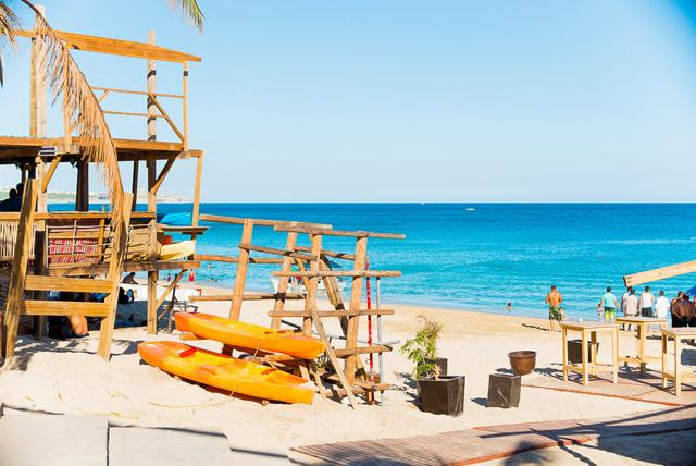 Médano Beach in Cabo San Lucas Mexico Hurricane Odile Recovery
