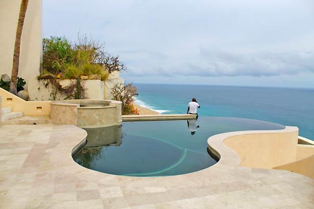 The pool at Villa Buena Vida in Pedregal, Cabo San Lucas - September 24, 2014