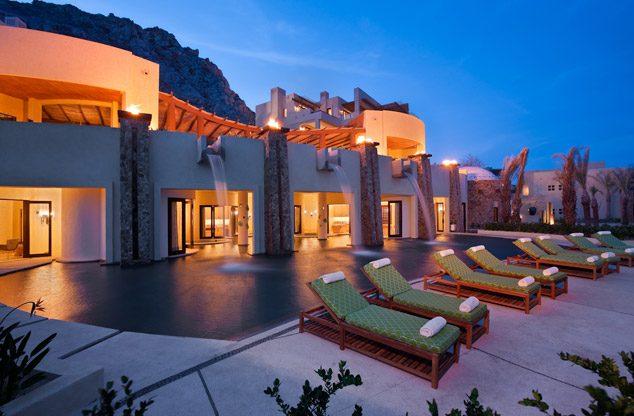 Luxury beachfront resort in Cabo San Lucas Mexico