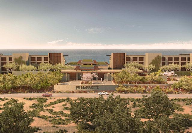 JW Marriott Resort in Los Cabos Mexico