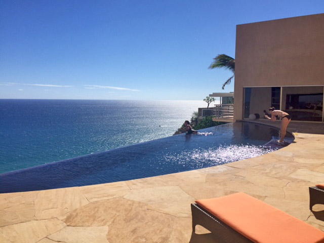 The view from Villa Bellissima in Cabo San Lucas, Mexico vacation rental