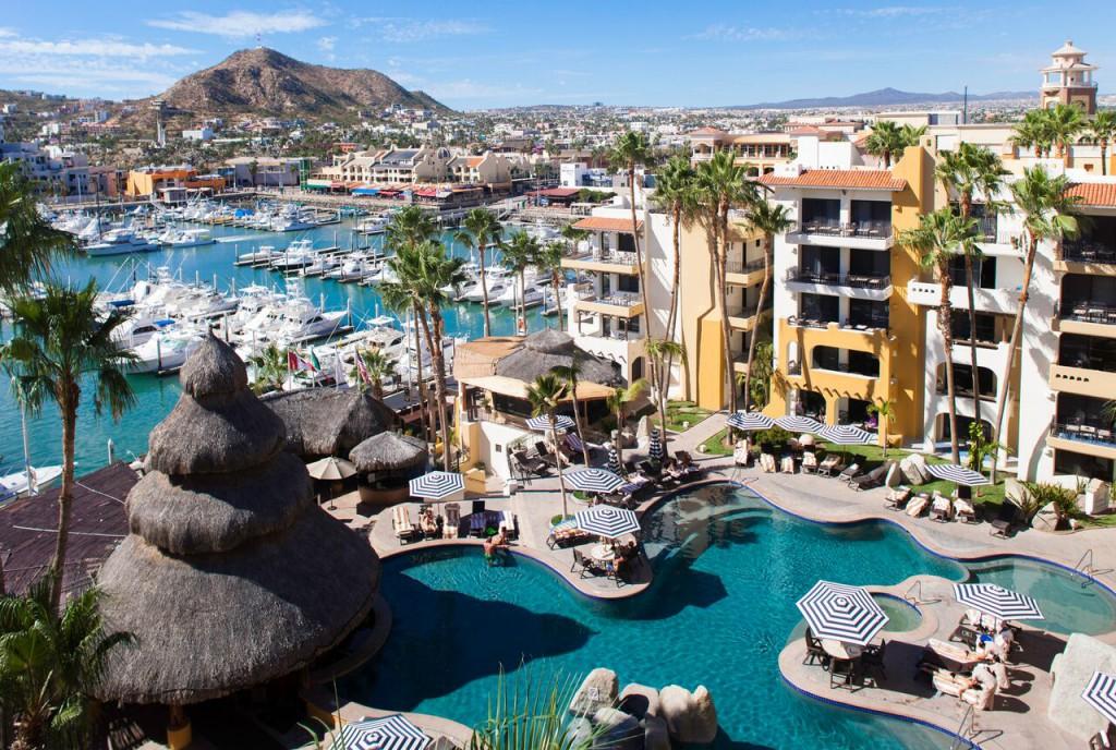Marina Fiesta Resort in Cabo San Lucas Mexico