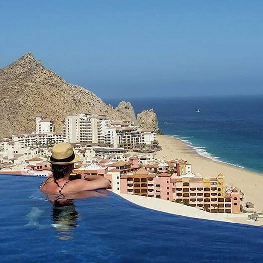 Beautiful ocean views from private vacation rental Villa Bellissima in Cabo San Lucas Mexico