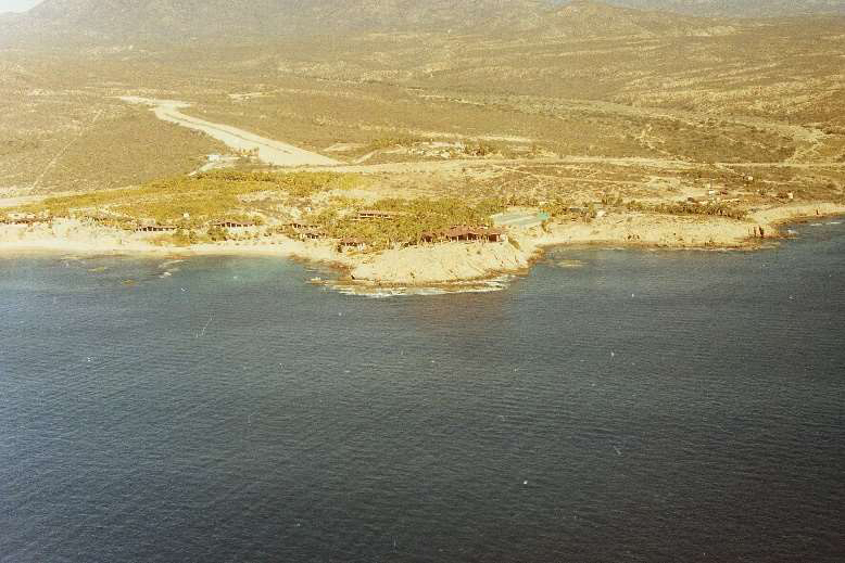 Historic photo of Hotel Cabo San Lucas in 1988
