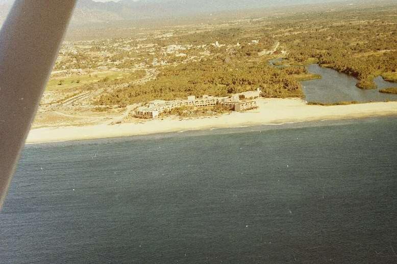 Hotel El Presidente in 1988 in San José del Cabo - Baja California Sur, Mexico