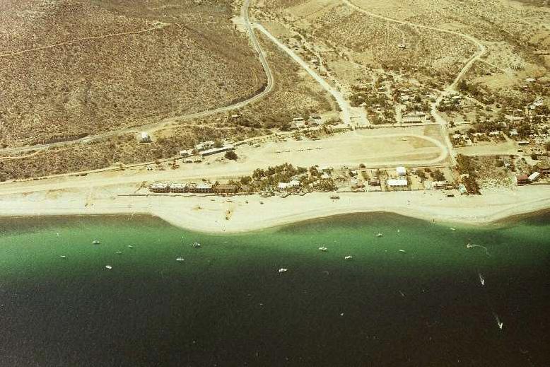 Hotel Las Palmas in 1988 - Baja California Sur, Mexico