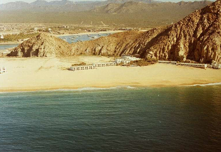 Historic photo of Hotel Solmar in Cabo San Lucas 1972