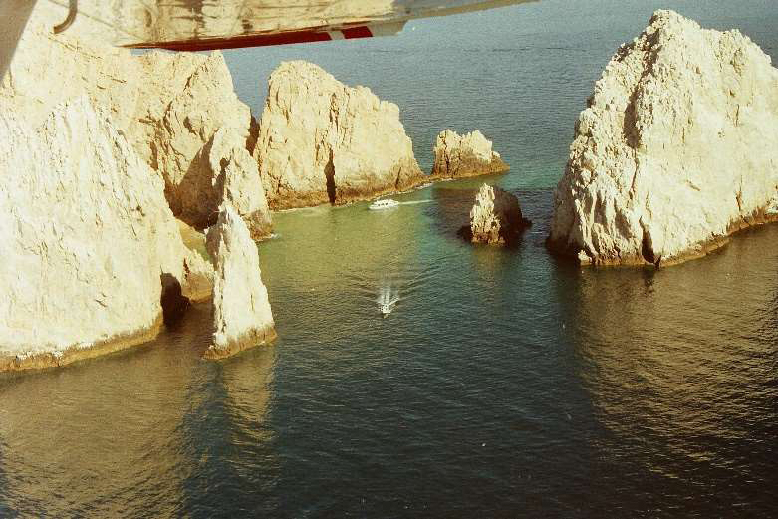 Land's End in Cabo San Lucas in 1988