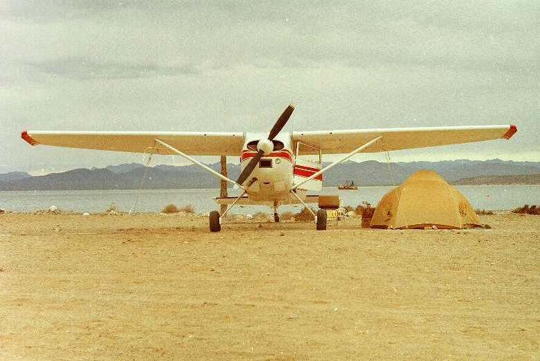 Punta Chivato, Baja California Sur Mexico in 1972