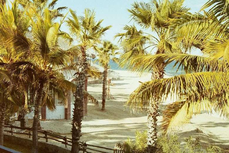 Historic photo of Rancho Buena Vista in Baja California Sur, Mexico in 1972