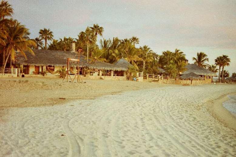 Historic photo of Rancho Buenoa Vista in Baja California Sur, Mexico - 1988