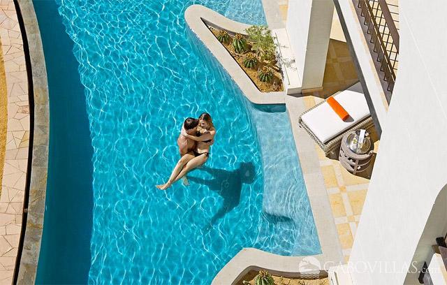 Swim-out suite at Secrets Puerto Los Cabos