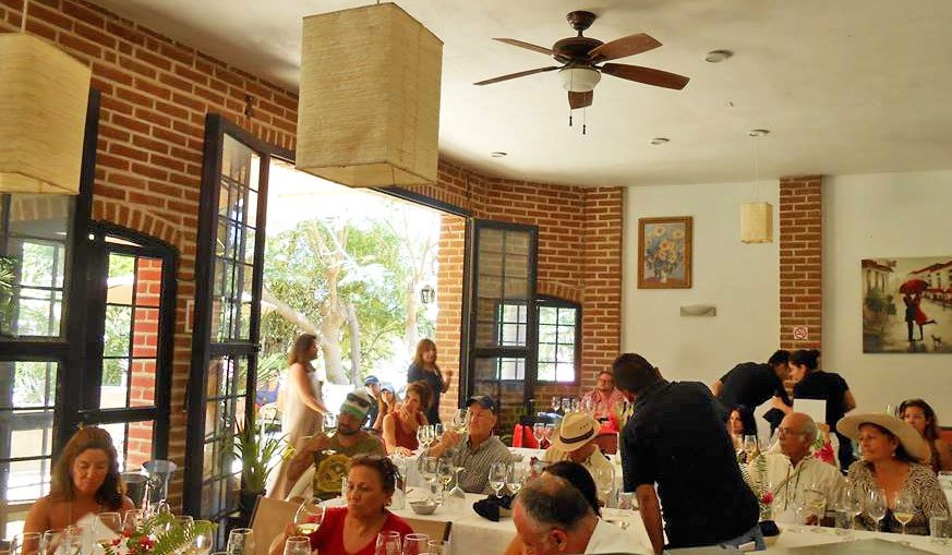 Dining in Todos Santos Mexico