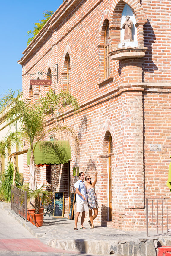 Exploring the historic streets and architecture in Todos Santos is always a treat