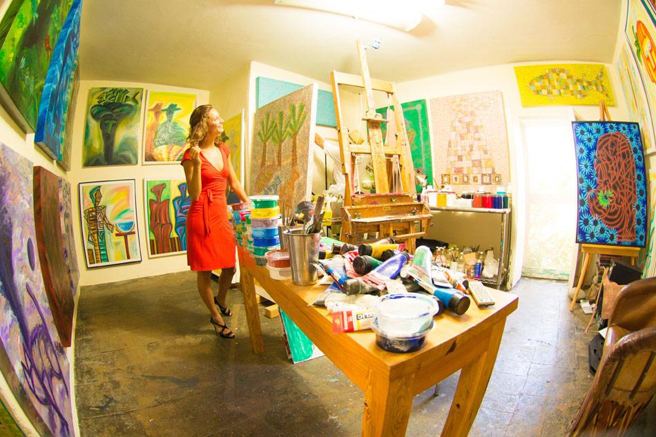 Art District in Todos Santos Mexico