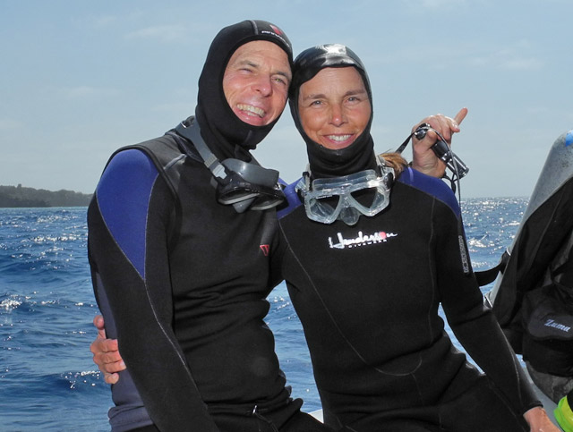 Diving in Baja California Sur Mexico