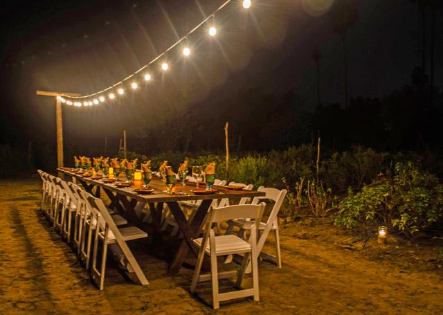 Huerta Los Tamarindos in Los Cabos Mexico organic cuisine