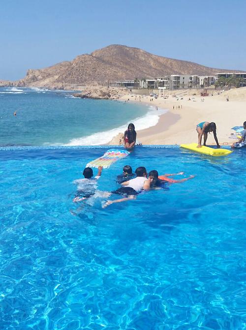 Beachfront vacation rental Villa Cielito overlooks Chileno Bay