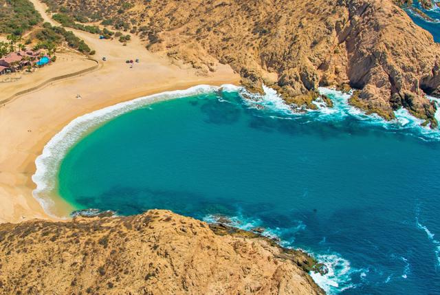 Snorkeling is great at Santa Maria Bay in Los Cabos, Mexico CaboVillas.com