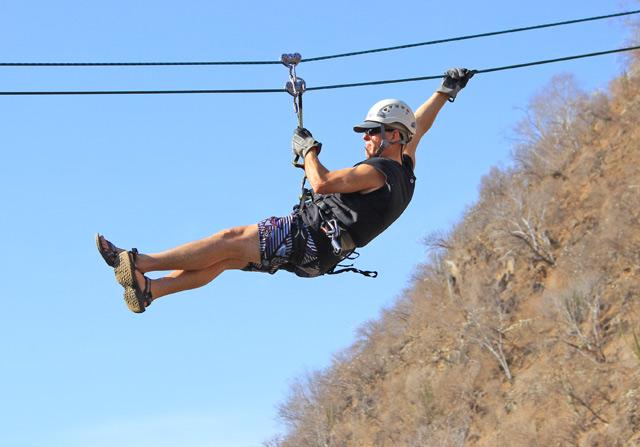Zip-Lining - Top 4 Adrenaline-Pumping Activities in Los Cabos Mexico