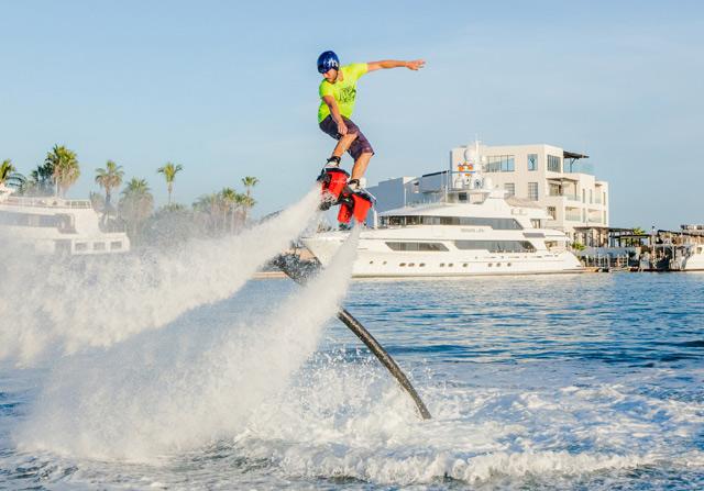 Hydro Flyboard  - Top 4 Adrenaline-Pumping Activities in Los Cabos Mexico