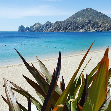 Medano Beach in Cabo San Lucas Mexico