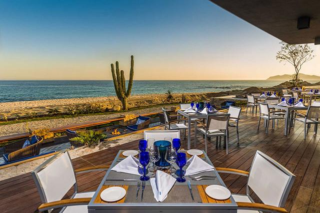 La Deriva Restaurant in Los Cabos Mexico
