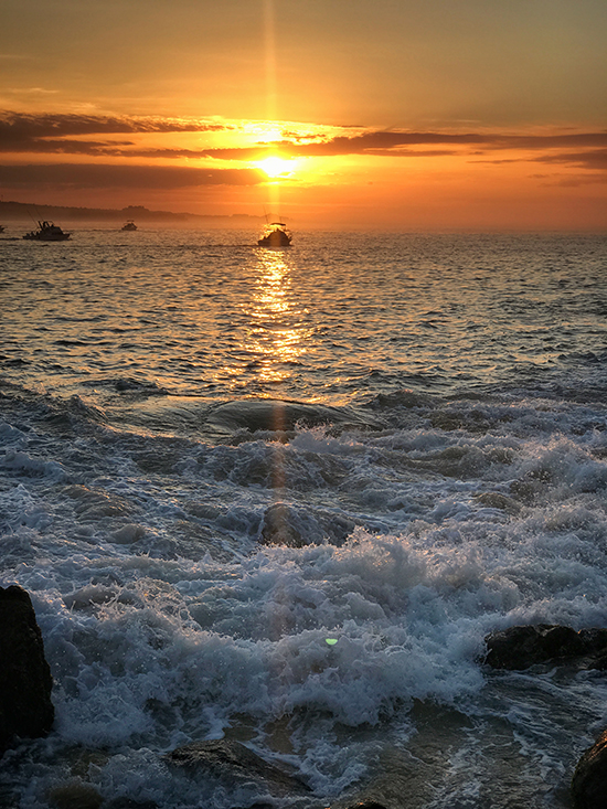 Sunset views in Cabo San Lucas Mexico