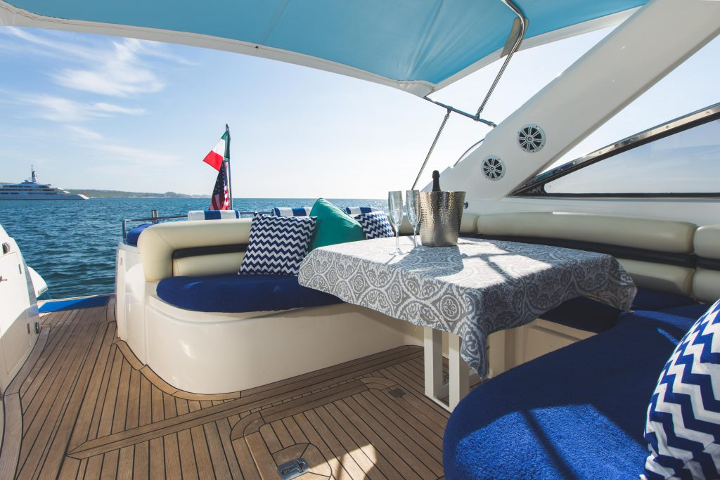 Pisces luxury private yacht charters in Cabo San Lucas Mexico