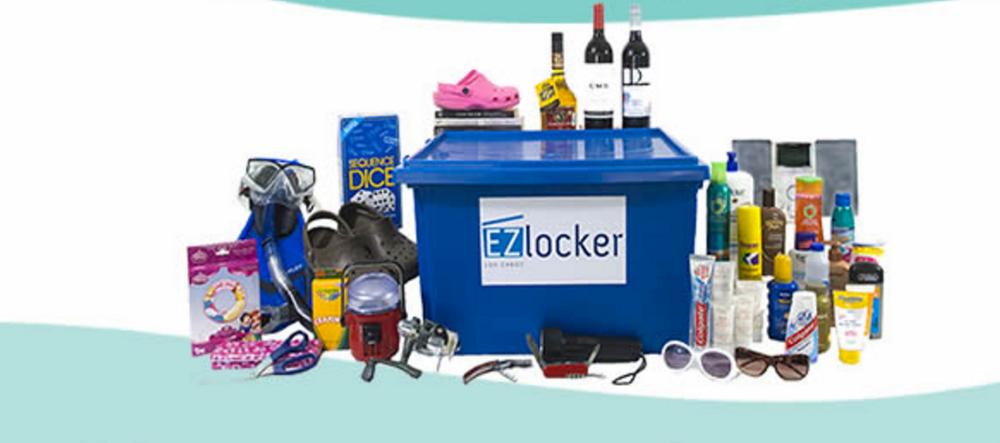 EZ Locker Storage Services in Cabo San Lucas Mexico