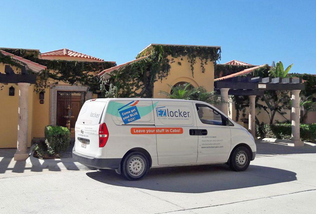 EZ Locker Storage Servies in Los Cabos Mexico
