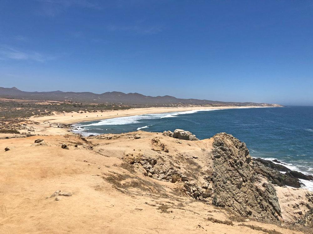Beach in Los Cabos Mexico