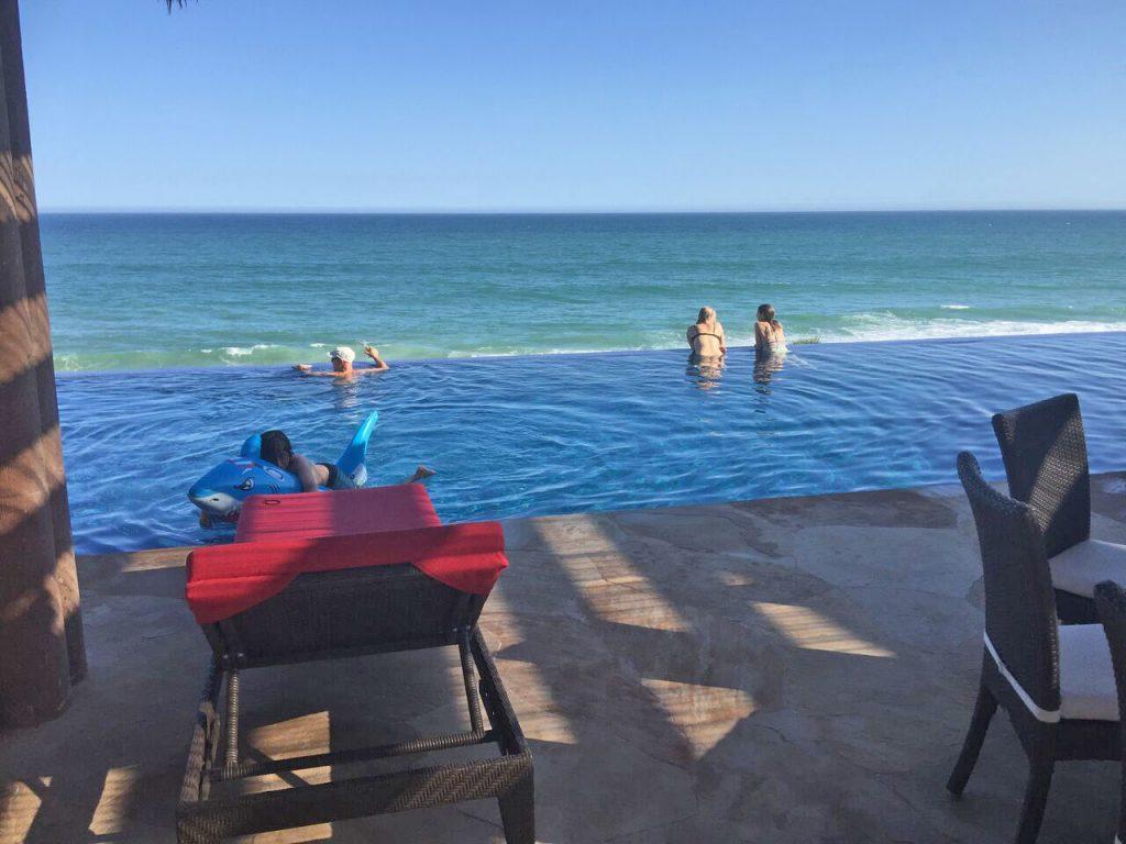 Villa Tranquilidad luxury beachfront vacation rentla in Los Cabos Mexico