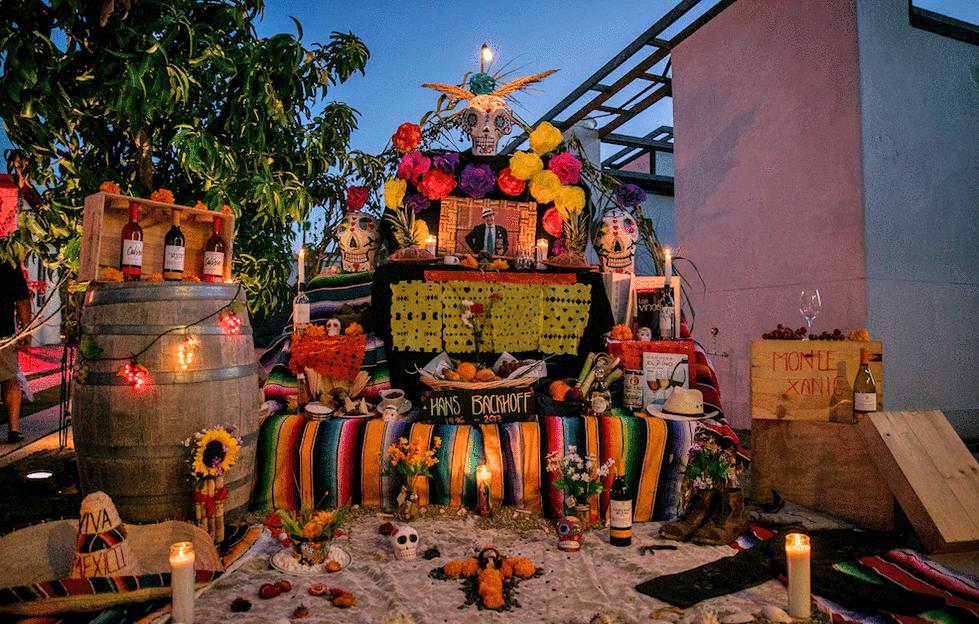 Dia de los Muertos in Los Cabos Mexico