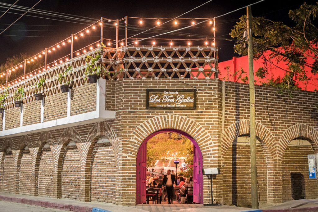 Los Tres Gallos Restaurant in Cabo San Lucas serves authentic Mexican cuisine