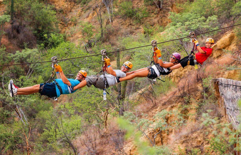 Ziplining Tours in Los Cabos Mexico