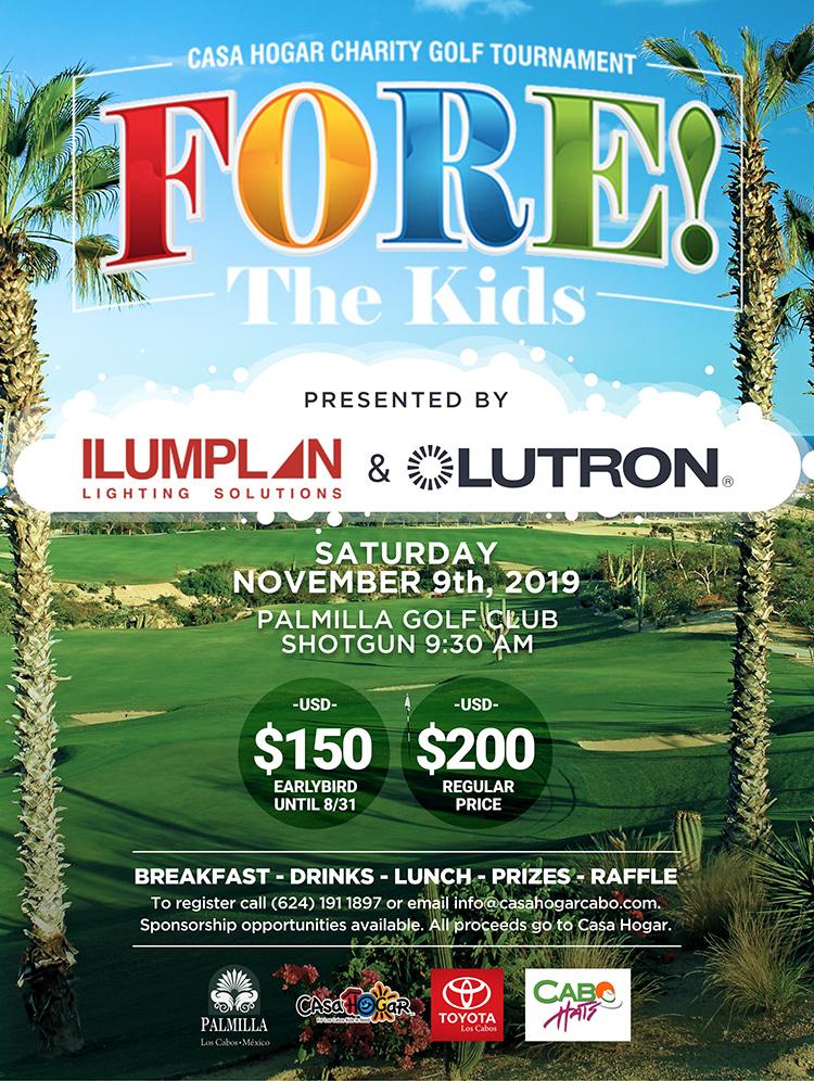 Charity Golf Tournament Cabo San Lucas