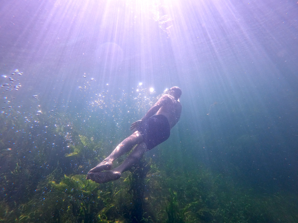 Desert hot springs and freshwater pools in Baja California Sur