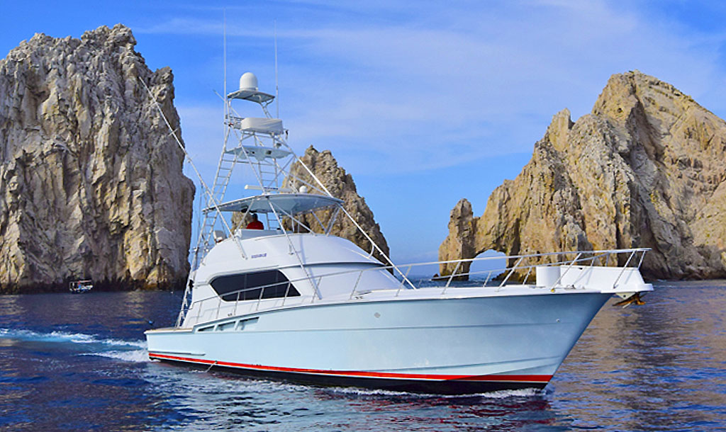 Cabo San Lucas known as one of the world's top fishing destinations for marlin dorado tuna and more
